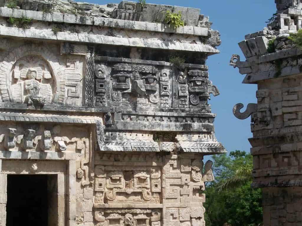 Mayan ruins in Cozumel Mexico - stingray villa, Cozumel