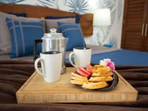 Room service is available @ Stingray Villa
