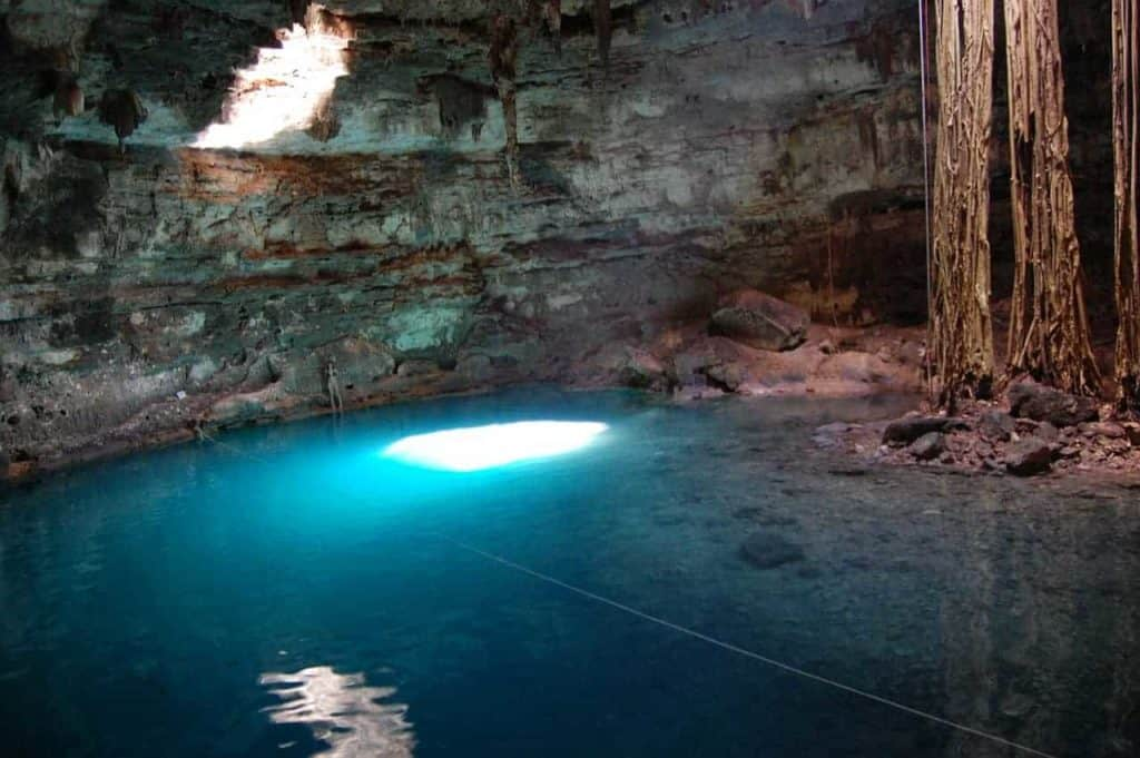 Cenotes: Attractions close to Cozumel.