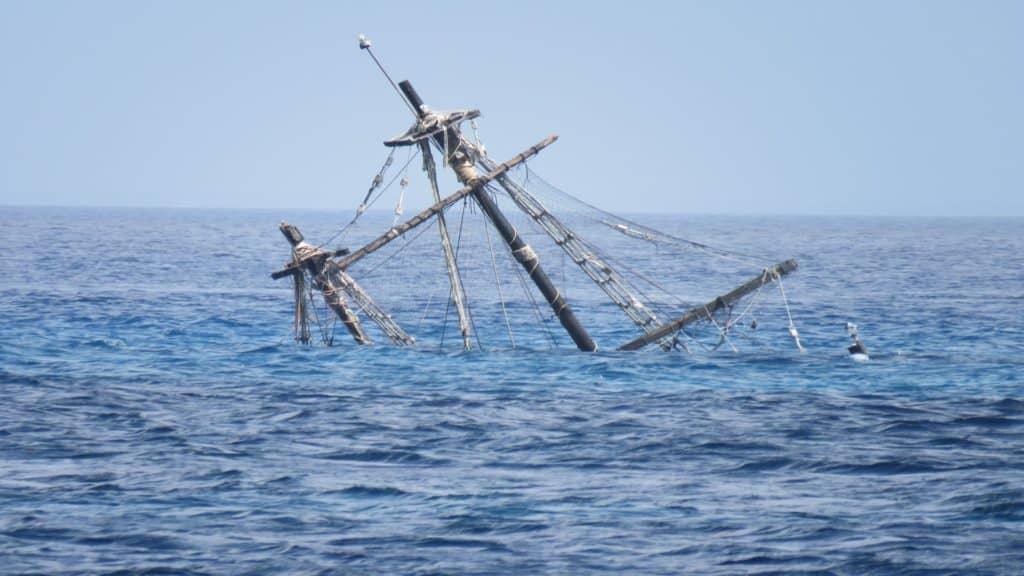 cozumel pirate ship, tropical storm Cristobal damage, 2020 hurricane damage