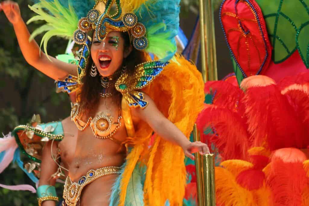 The Colourful Carnival on Cozumel - stingray villa